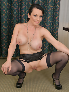 Anilos.com - Freshest mature women on the net featuring Anilos Stacy Ray hose mature pantie