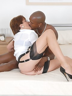 Lady Sonia - Black cock slut