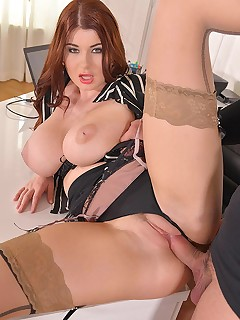 Horny Self-Defense - Hardcore Office Fuck And Cum On Tits free photos and videos on DDFBusty.com