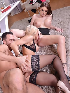 The Seductress - Best Friends Anal Threesome free photos and videos on DDFNetwork.com