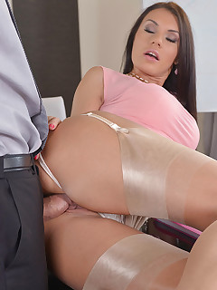 CEO Jizz - Business Meeting Leads To Ass Fucking free photos and videos on DDFNetwork.com