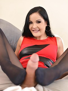 Her Footjob Plaything free photos and videos on DDFNetwork.com