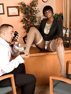 Leg Sex - Climb That Corporate Ladder - Stacy Adams and Jarrod Steed (64 Photos)