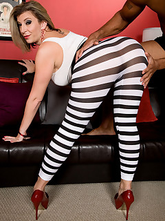 Bootylicious - Zebra Girl - Sara Jay and Asante Stone (44 Photos)