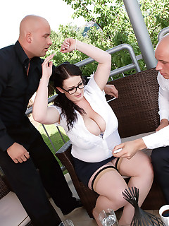 XL Girls - Three For Fun  - Anna Beck, Leny Ewil, and Marcel Lee (90 Photos)