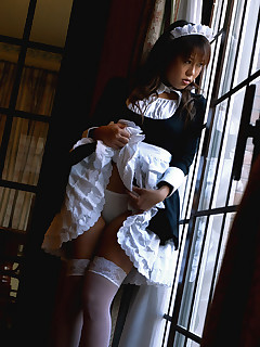 Slutty Japanese maid likes fucking on the job @ Idols69.com... Always more then you expect!