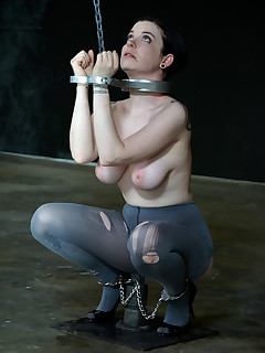 Infernal Restraints | Extreme Device Bondage and Metal Restraints | Sybil Hawthorne Gets Blistered